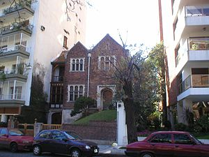 Belgrano, Buenos Aires - Many older single-family homes have been replaced by high-rise residential structures in the denser sections of Belgrano.