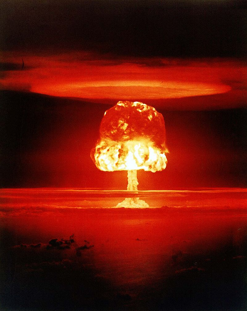 Nuclear War: Nuclear weapon test, 1954