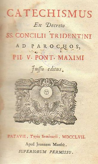 Roman Catechism - An edition issued in 1757.