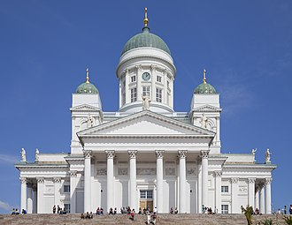 Helsinki-Uusimaa Region - Image: Catedral Luterana de Helsinki, Finlandia, 2012 08 14, DD 02