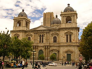 Roman Catholic Archdiocese of La Paz - Cathedral Basilica of Our Lady of Peace