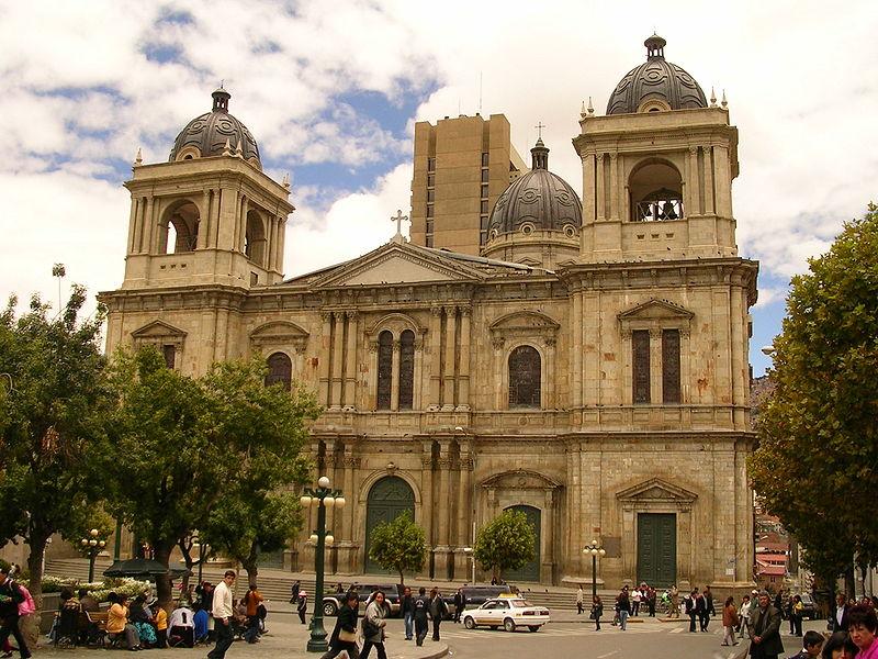 Mirantes da cidade de La Paz