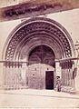 Catedral de València, porta de Palau, 1870, Laurent.jpg