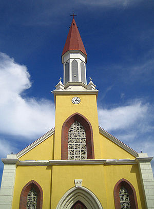 Notre Dame Cathedral, Papeete - Notre Dame Cathedral, Papeete