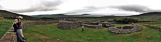 Caherdorgan North - Image: Cathair Deargan