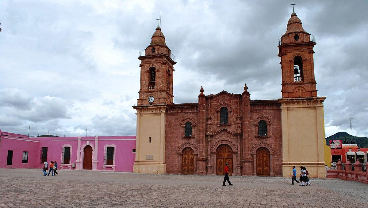 Vista de la iglesia de Huajuapan de León en Oaxaca