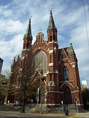 Adolphus Druiding - Cathedral of St. Paul, Birmingham, Alabama