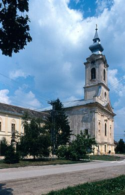 Catholic church in Bač, Vojvodina, Serbia.jpg