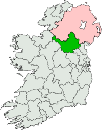 Map Of Ireland Cavan.Cavan Monaghan Dail Constituency Wikipedia