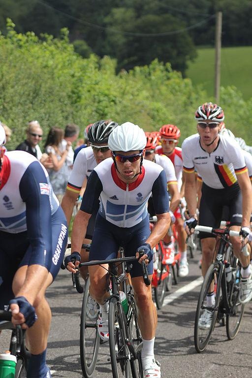 Nower wood near headley surrey during 2012 olympics mens road race