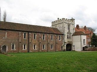 Cawood - Image: Cawood Castle