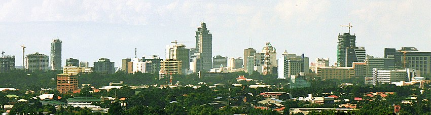 Panoramic view of the Cebu Business Park