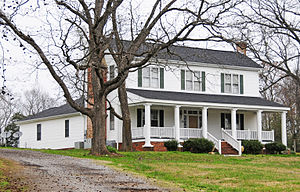 National Register of Historic Places listings in Union County, South Carolina - Image: Cedar Bluff