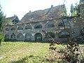 Cell block at former Stara Gradiska Prison.jpg