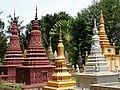 Cemetery at Wat Maha Leap Temple - Near Kampong Cham - Cambodia - 05 (48362669531).jpg