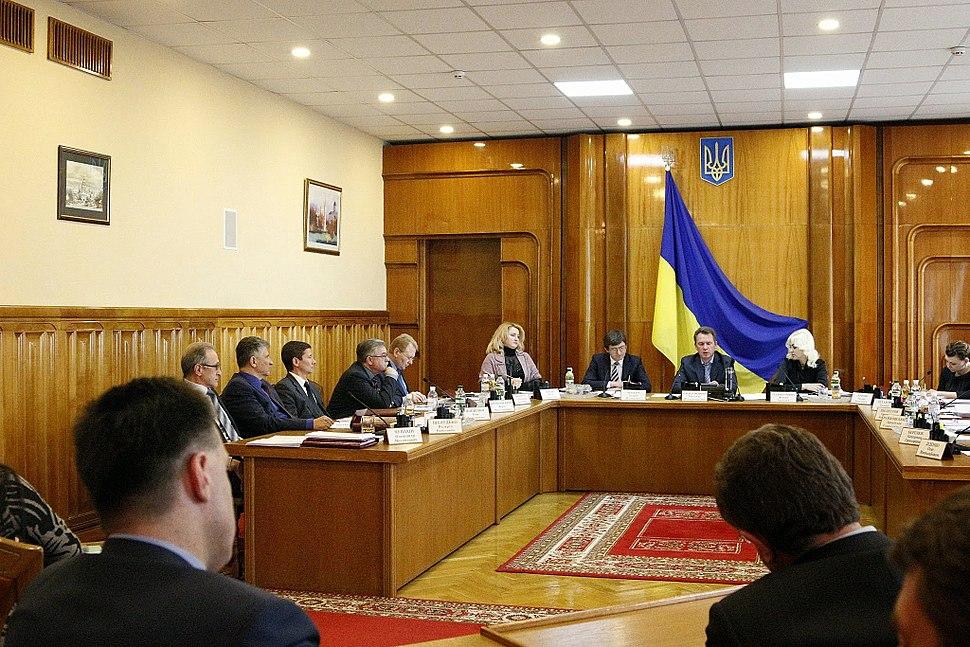 Central Election Commission of Ukraine April 2014