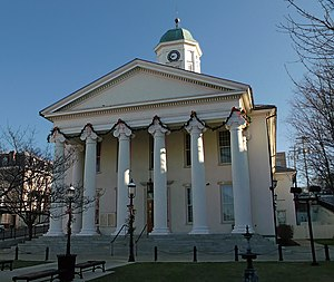 The Centre County Courthouse in Bellefonte