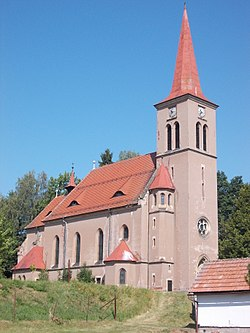 St. Wenceslaus Church, Čermná