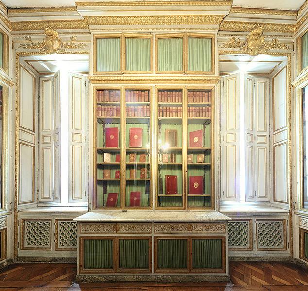 file ch teau de versailles petit appartement de la reine 1er tage biblioth que l vation. Black Bedroom Furniture Sets. Home Design Ideas