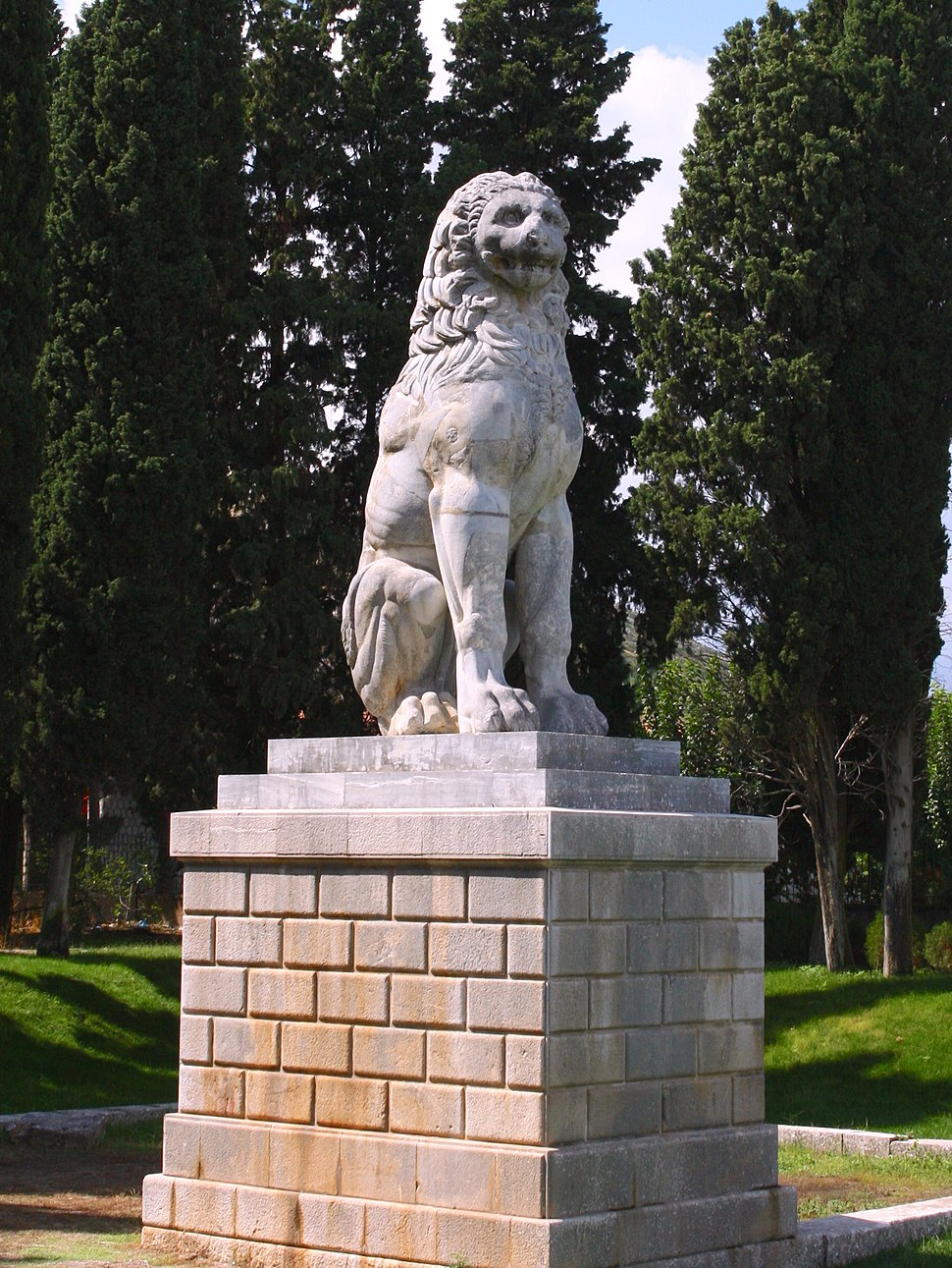 Chaironeia lion