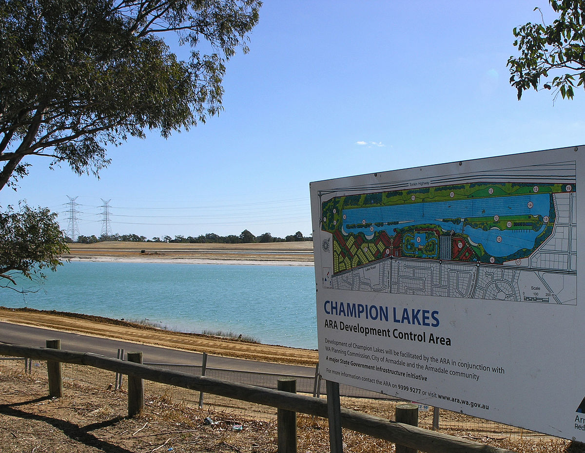 Champion Lakes Regatta Centre - Wikipedia