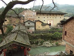 Ting River - Nanxi Creek, an (eventual) tributary of the Ting River. Xinnan Village, Hukeng Town, Yongding County, Fujian