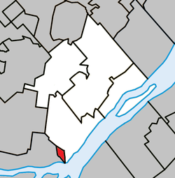 Location within L'Assomption RCM.