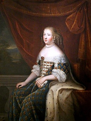 Charles Beaubrun - Charles Beaubrun: Portrait of Maria Theresa (1638-83), queen consort of France as wife of Louis XIV
