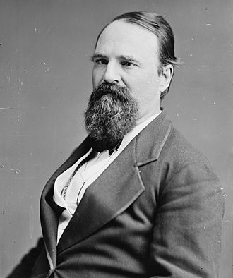 Charles Foster (Ohio politician) - Image: Charles Foster, Brady Handy photo portrait, ca 1865 1880