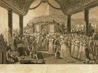 Charles-Simon Pradier - Disembarkation of her royal highness, the archduchess Carolina Leopoldina (1818)
