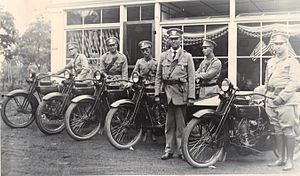 Montgomery County Police Department - The MCPD's first chief with several policemen on the MCPD's first day of operations in July 1922.