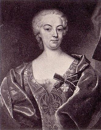 Iver Rosenkrantz - Charlotte Amalie Skeel (1700-63)