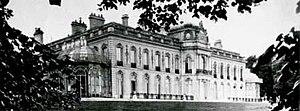 La Celle-Saint-Cloud - Former Château de Beauregard, La Celle St Cloud, pictured in 1872 when it was owned by Baron Maurice de Hirsch
