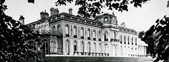 La Celle-Saint-Cloud - Former Château de Beauregard, La Celle St Cloud, pictured in 1872 when it was owned by Baron Maurice de Hirsch.