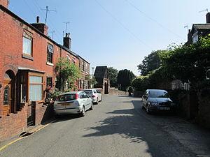 Cheddleton - Image: Cheddleton village