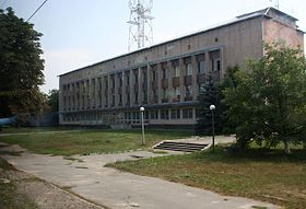 Mairie de Tchernobyl, juillet 2010