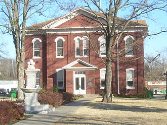 Cherokee Nation - Cherokee Nation Historic Courthouse in Tahlequah, built in 1849, is the oldest public building standing in the state of Oklahoma.