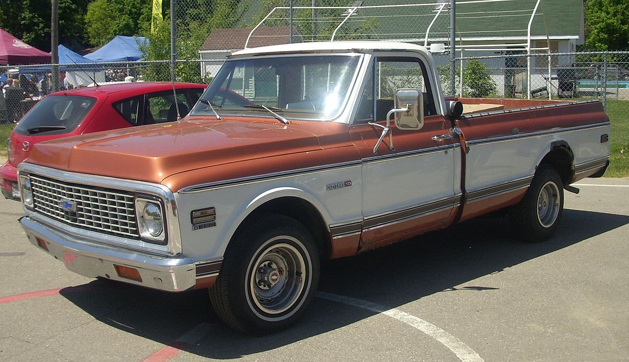 All Chevy chevy c10 wiki : File:Chevrolet C-K Cheyenne 10 (Hudson).JPG - Wikimedia Commons