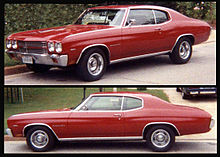 1970 Chevelle Malibu 2-door sport coupe & Chevrolet Malibu - Wikipedia
