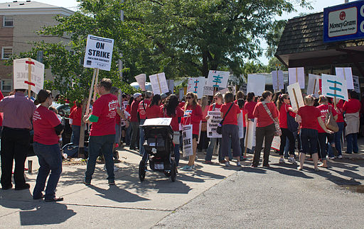 Chi Teachers on Strike