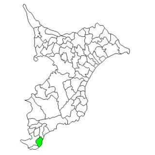 Chikura, Chiba Former municipality in Kantō, Japan