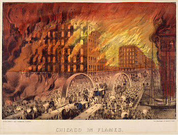 Great Chicago Fire - Wikipedia
