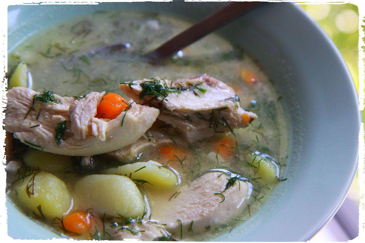филадельфийский суп с перцем рецепт