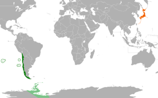 Diplomatic relations between the Republic of Chile and Japan
