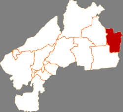 Location in Qiqihar