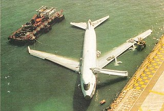 China Airlines Flight 605 Crash of a Taiwanese airliner in Hong Kong in 1993