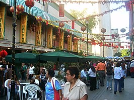 Chinatown in Mexico-Stad