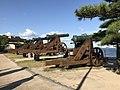 Choshu batteries in Mimosusogawa Park 2.jpg