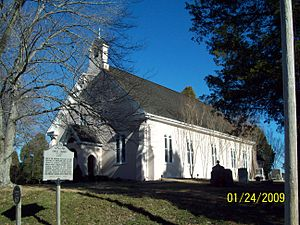 Christ Church (Port Republic, Maryland) - Image: Christ Church South Dec 08