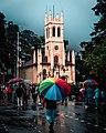 Christ Church in Shimla on a rainy day.jpg